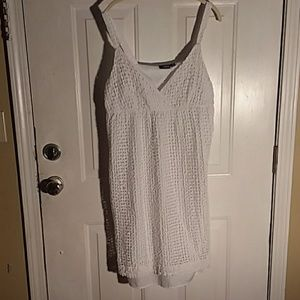 2/$20 Layered halter top mid length dress